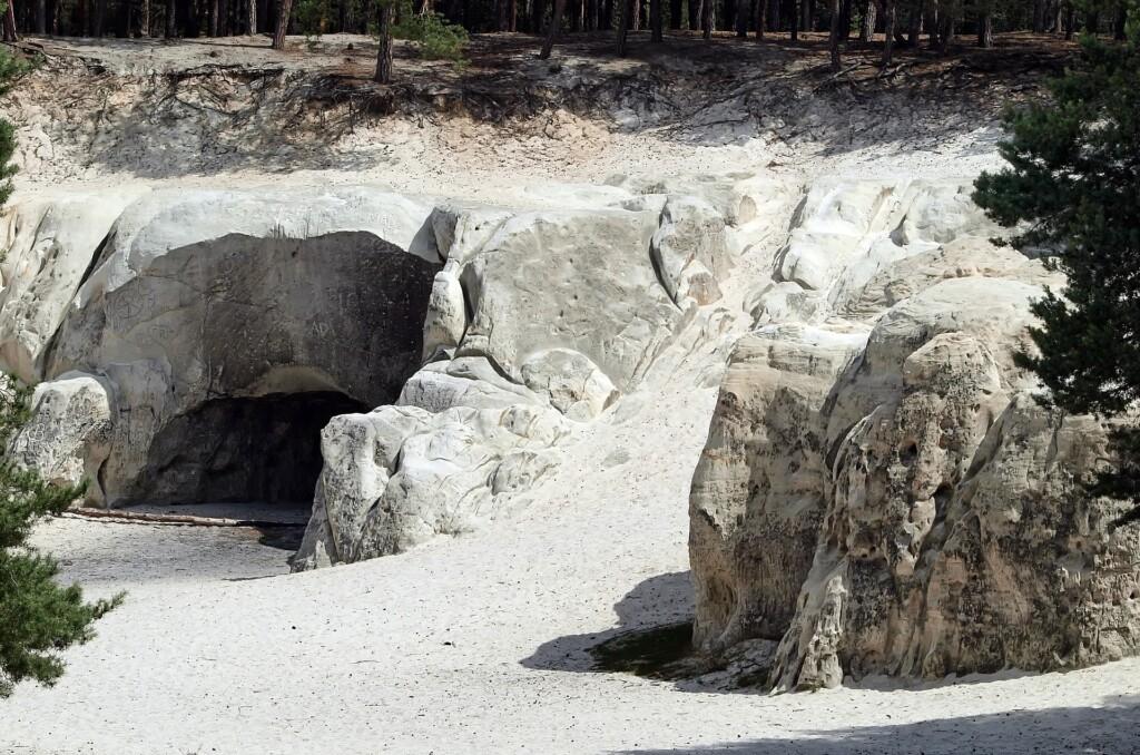 Burgruine Regenstein Sandhöhlen