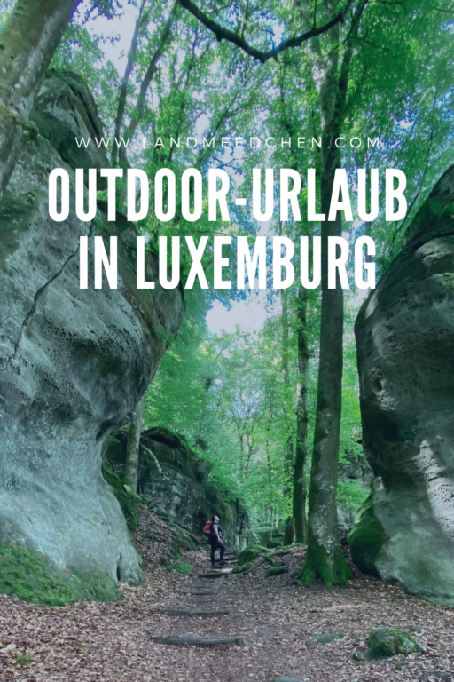 Outdoor-Urlaub in Luxemburg Pinterest