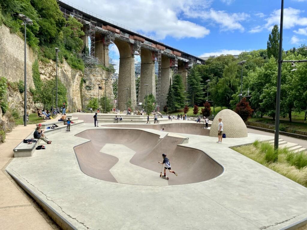 Skatepark Péitruss Luxemburg