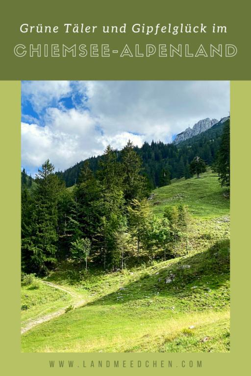 Grüne Täler und Gipfelglück im Chiemsee-Alpenland Pinterest
