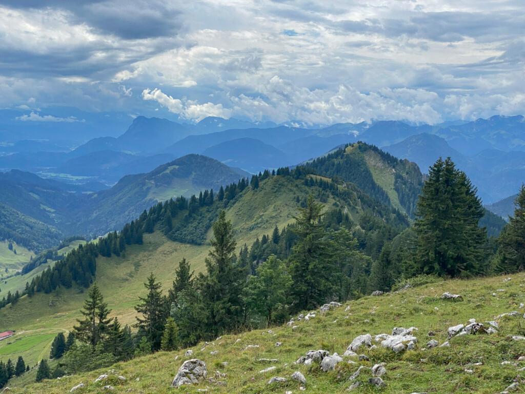 Hochries Gipfel Chiemsee Alpenland