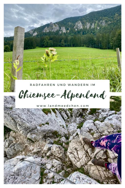 Radfahren und Wandern im Chiemsee-Alpenland Pinterest