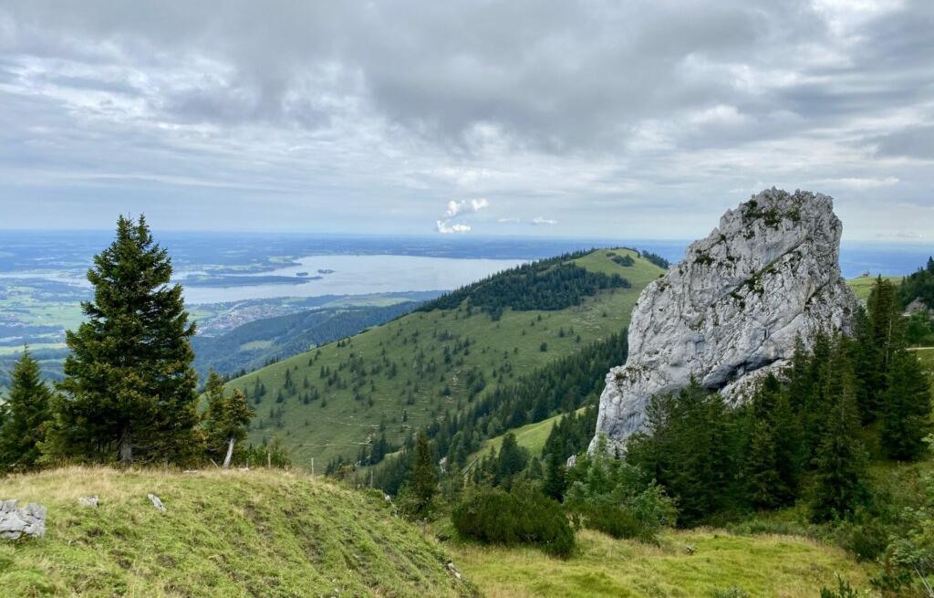 Staffelstein Kampenwand Chiemsee Alpenwand