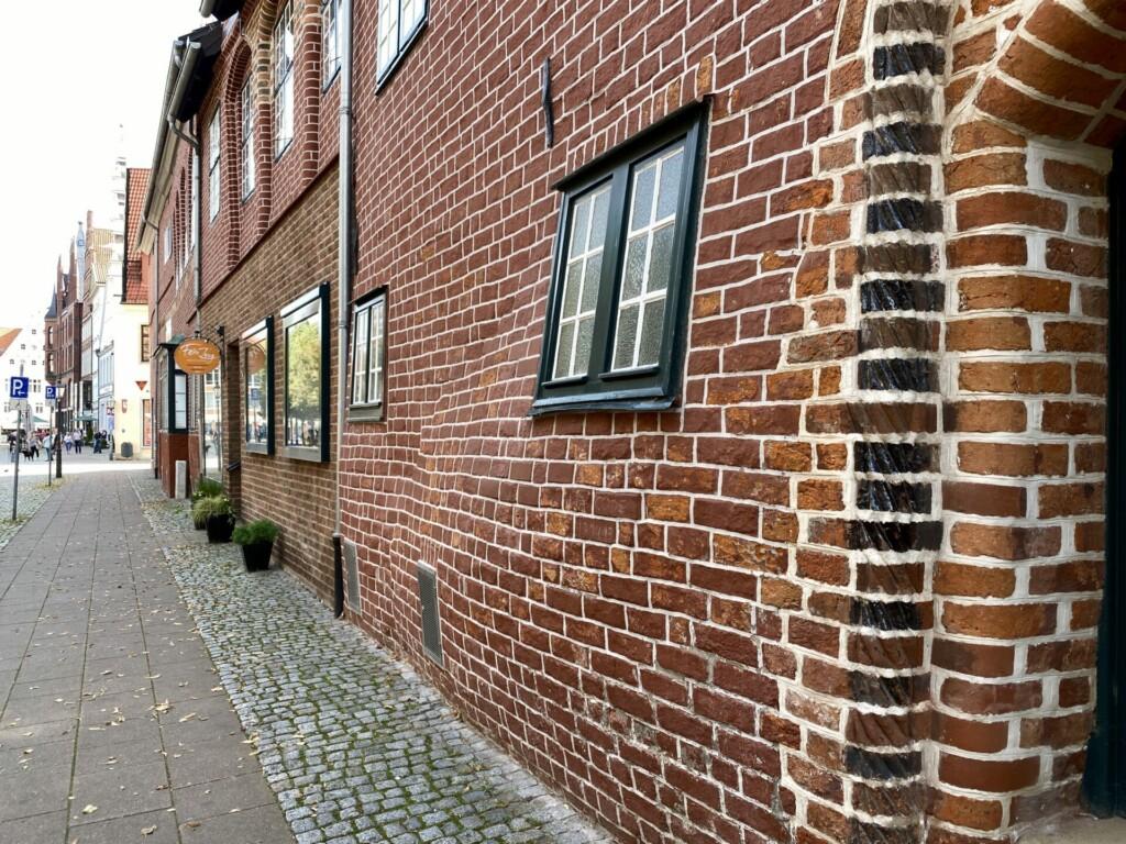 Schwangeres Haus Waagestrasse Lüneburg