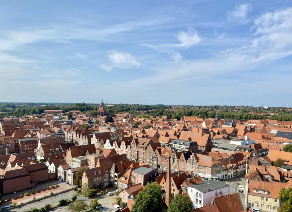 Aussicht Wasserturm Lüneburg