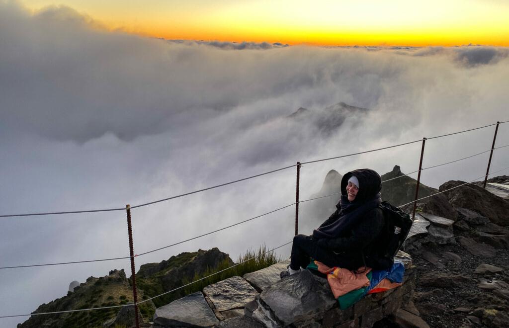 Sonnenaufgang Pico do Arieiro