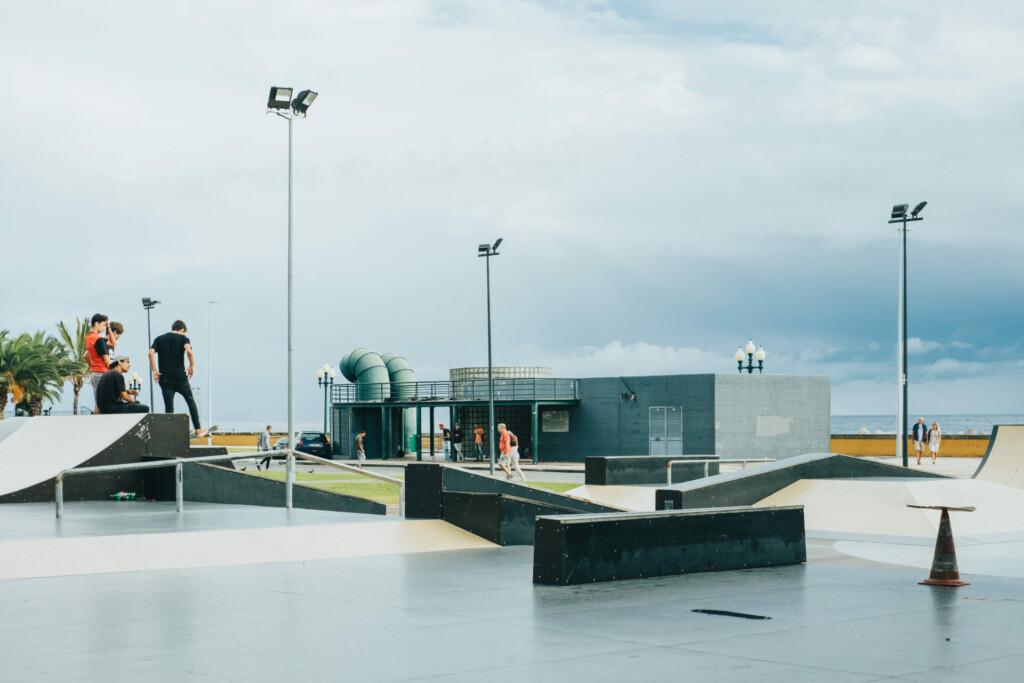 Funchal Hafen Skatepark