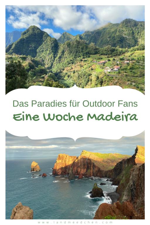 Madeira für Outdoor Fans Pinterest