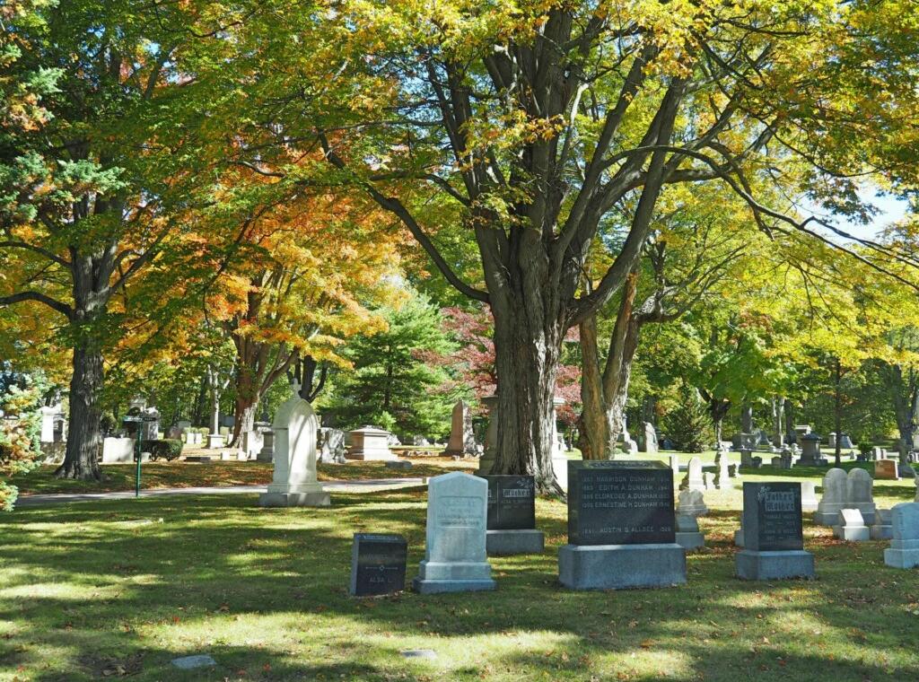 Forest Hills Cemetery Boston