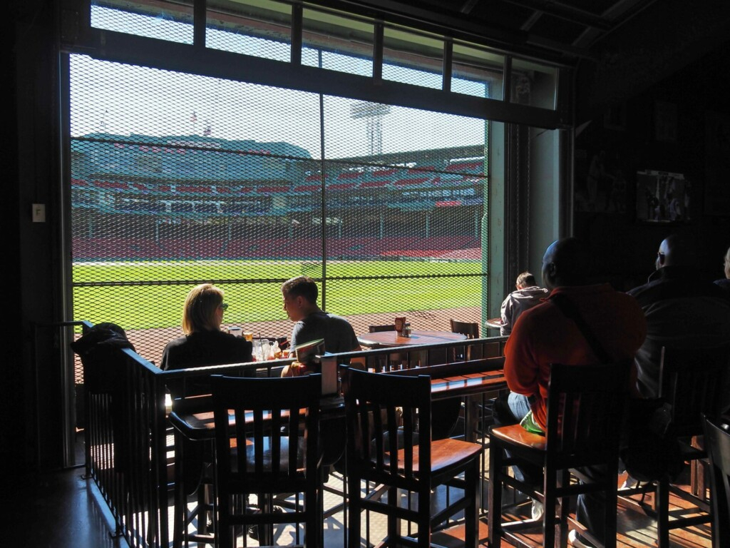 Bleacher Bar Boston Red Sox