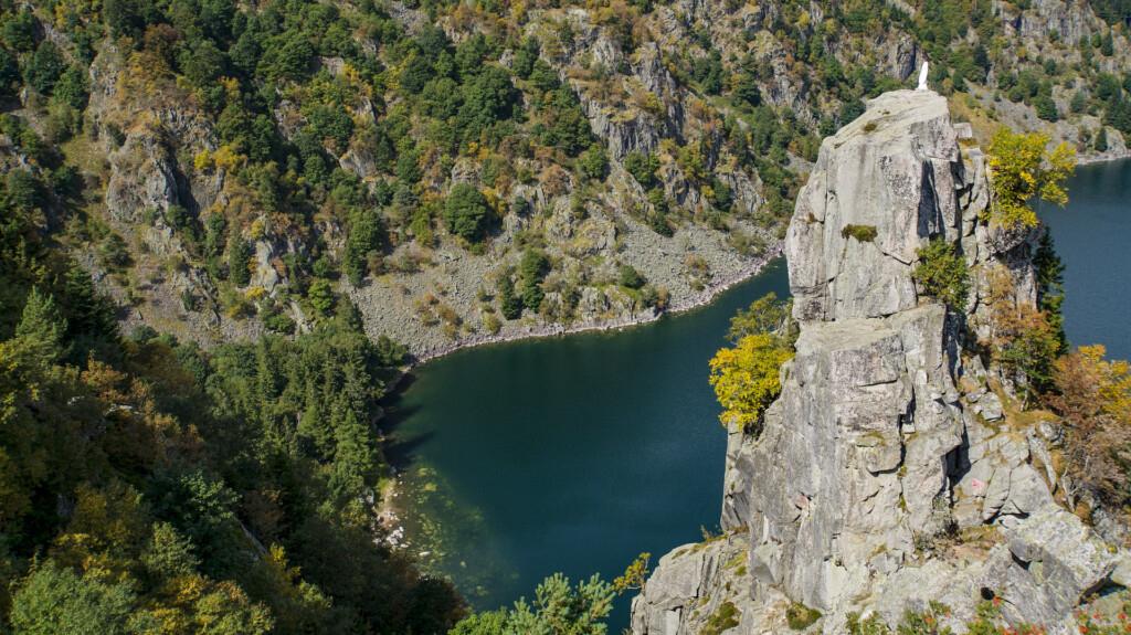 Lac Blank Vogesen Frankreich
