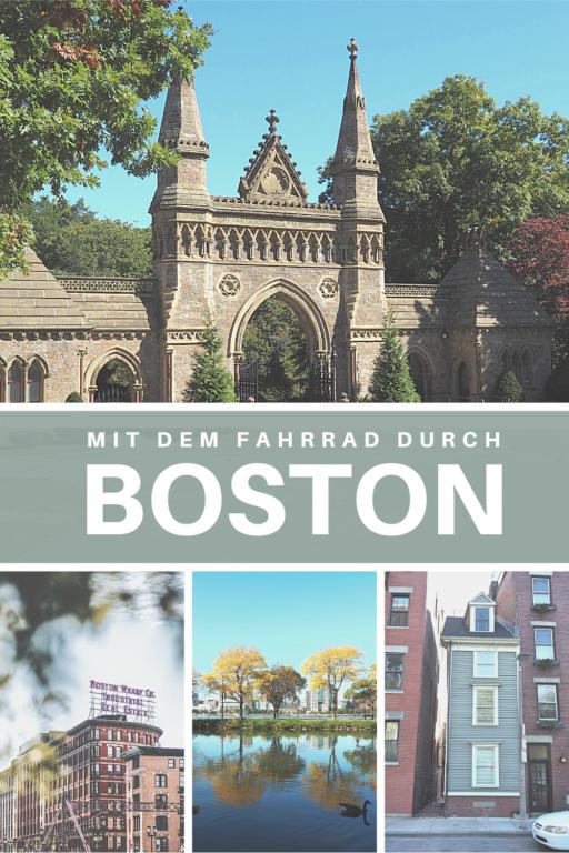 Mit dem Fahrrad durch Boston Pinterest