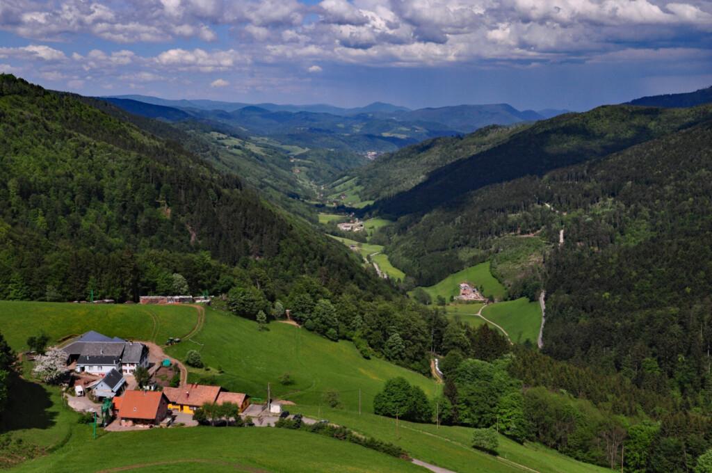 Sainte-Marie-aux-Mines Vogesen Frankreich