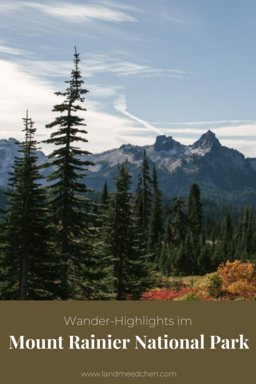 Wander Highlights im Mount Rainier National Park Pinterest