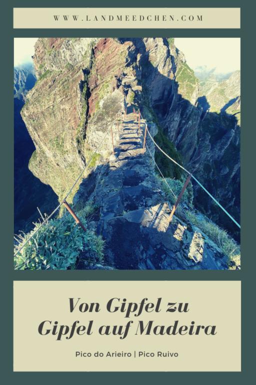 Madeira Gipfel zu Gipfel Pinterest