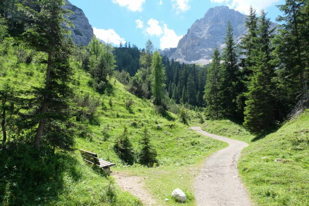 Wanderung Seebensee Tirol