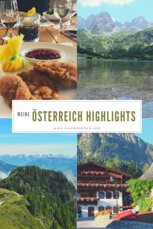 Meine Österreich Highlights 4 Pinterest