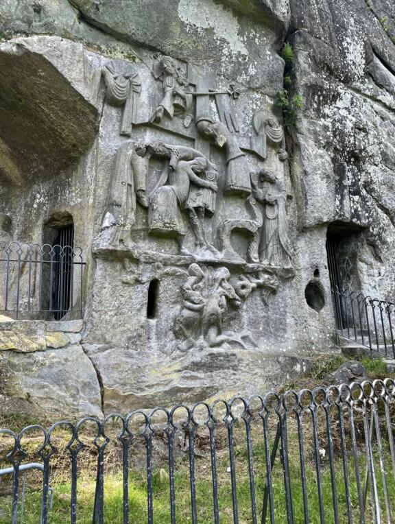 Grottenfels Externsteine