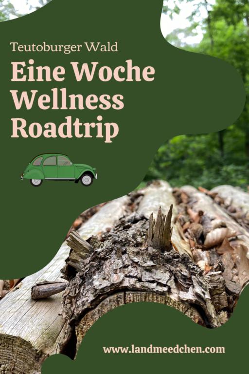 Eine Woche Wellness Roadtrip Teutoburger Wald Pinterest