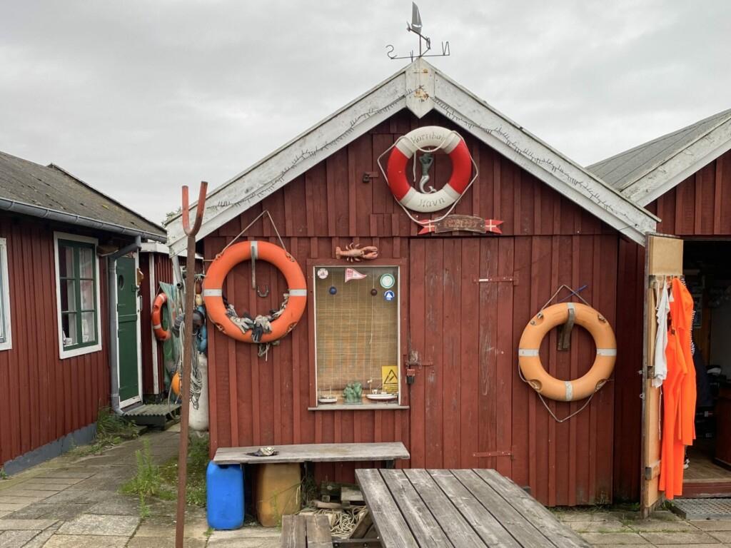 Hornbaek Nordseeland Fischerhütte