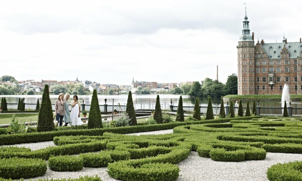 Frederiksborg Slot Garten Hillerod